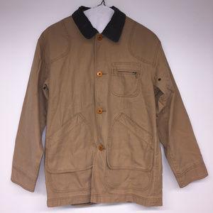 L.L. Bean Classic Chore Coat, Tan Small